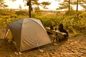 MI06-0101-5396 Bay Campground South Manitou Island by Aubrieta V Hope 135dpis